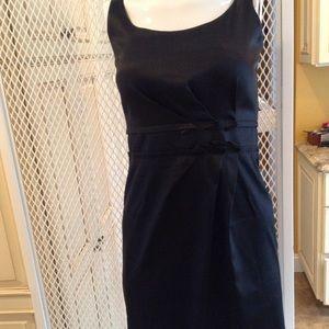 Talbots Little Black Dress. Flattering pleatDetail